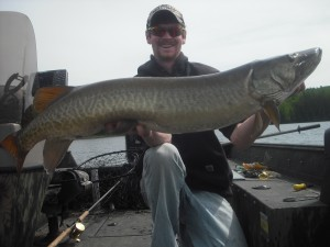 """6 fish day flying solo with 3 over 46""""! Great way to start the season! Fish #3 (46.25"""")"""