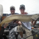 "1st Place in a small private tournament. Fish 2 of 5. 4 over 40"". July 2012."