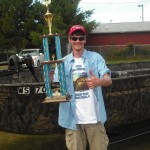 1st place with a record setting 6 fish in Eagle River National Championship Musky Open 2012.