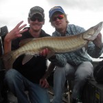 1st Place Squirrel Lake Musky Hunt 2012 Fish #3
