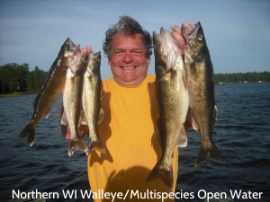 Northern WI Open Water Walleye cover